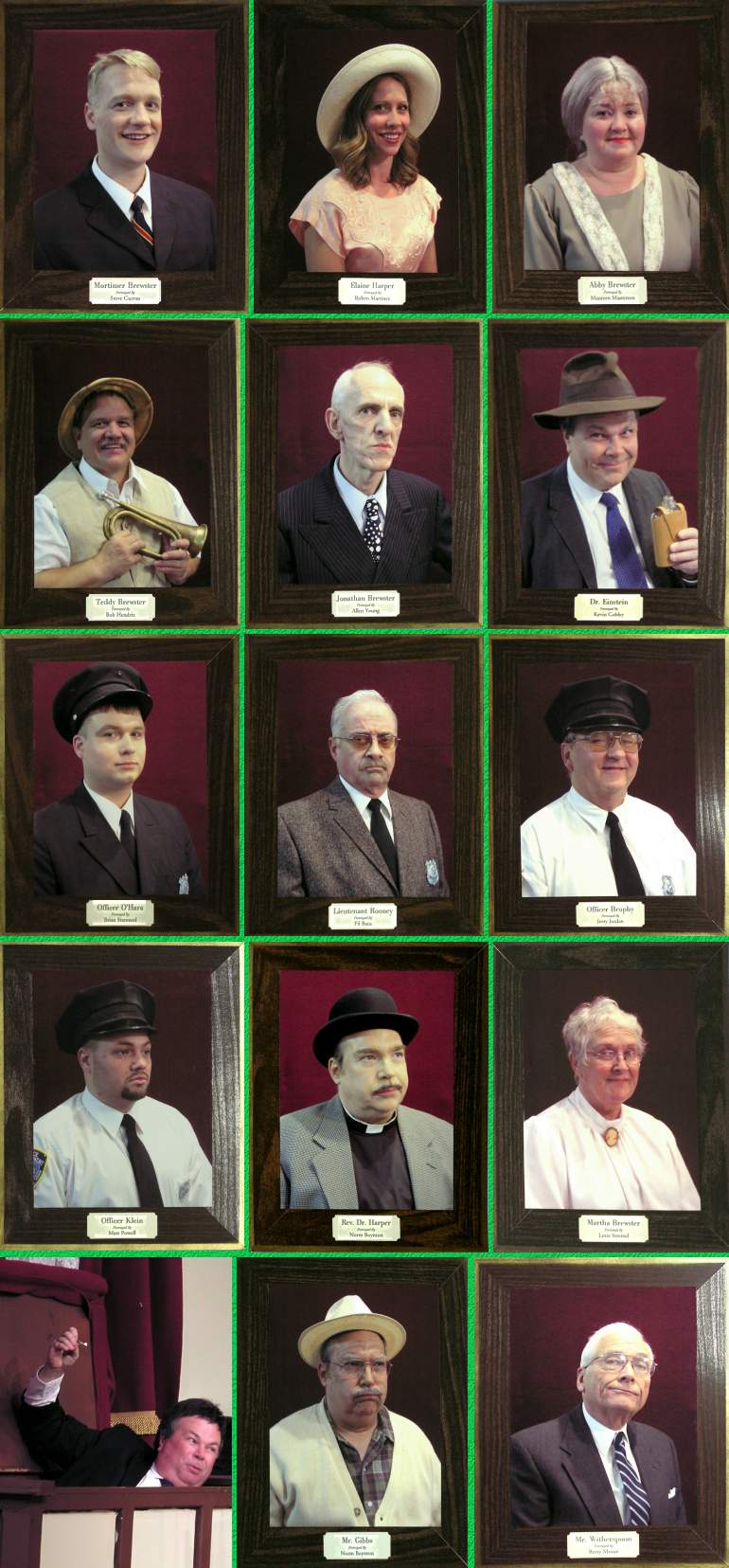 """Arsenic and Old Lace"" Cast Portraits - 09/1/03"