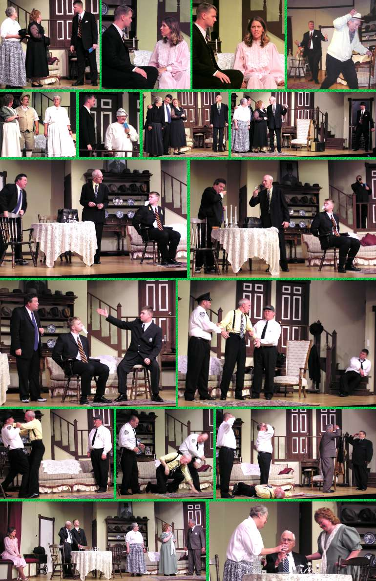 """Arsenic and Old Lace"" Rehearsal Photos - 8/27/03"