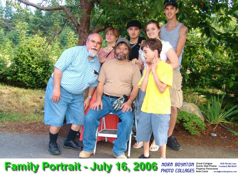 Family Portrait - 7/16/06