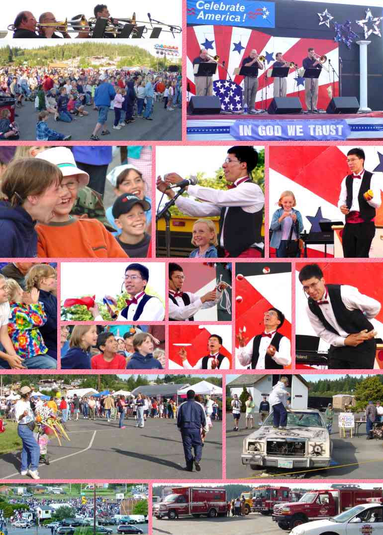 Magical Moments at Celebrate America, 2001, Freeland Park, 7/3/01