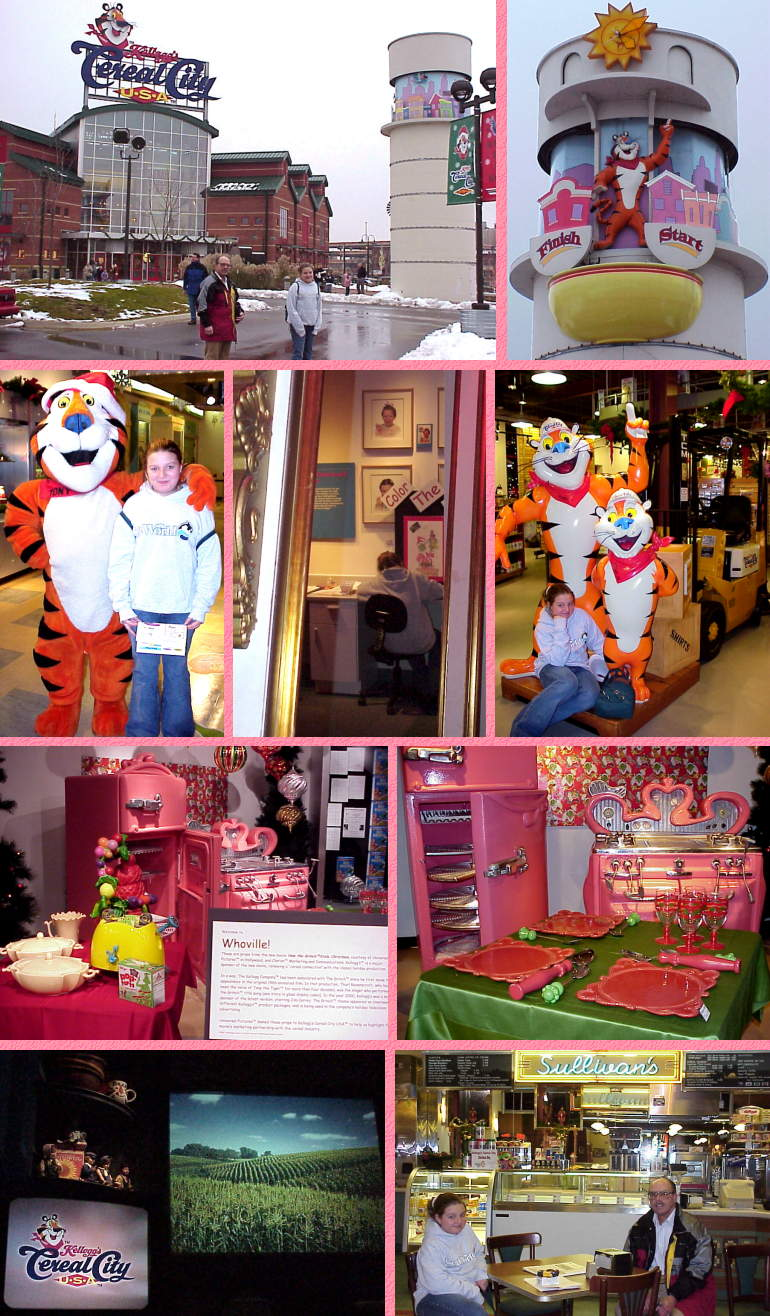 Cereal City, USA - Kellogg's Museum in Battle Creek - 11/25/00