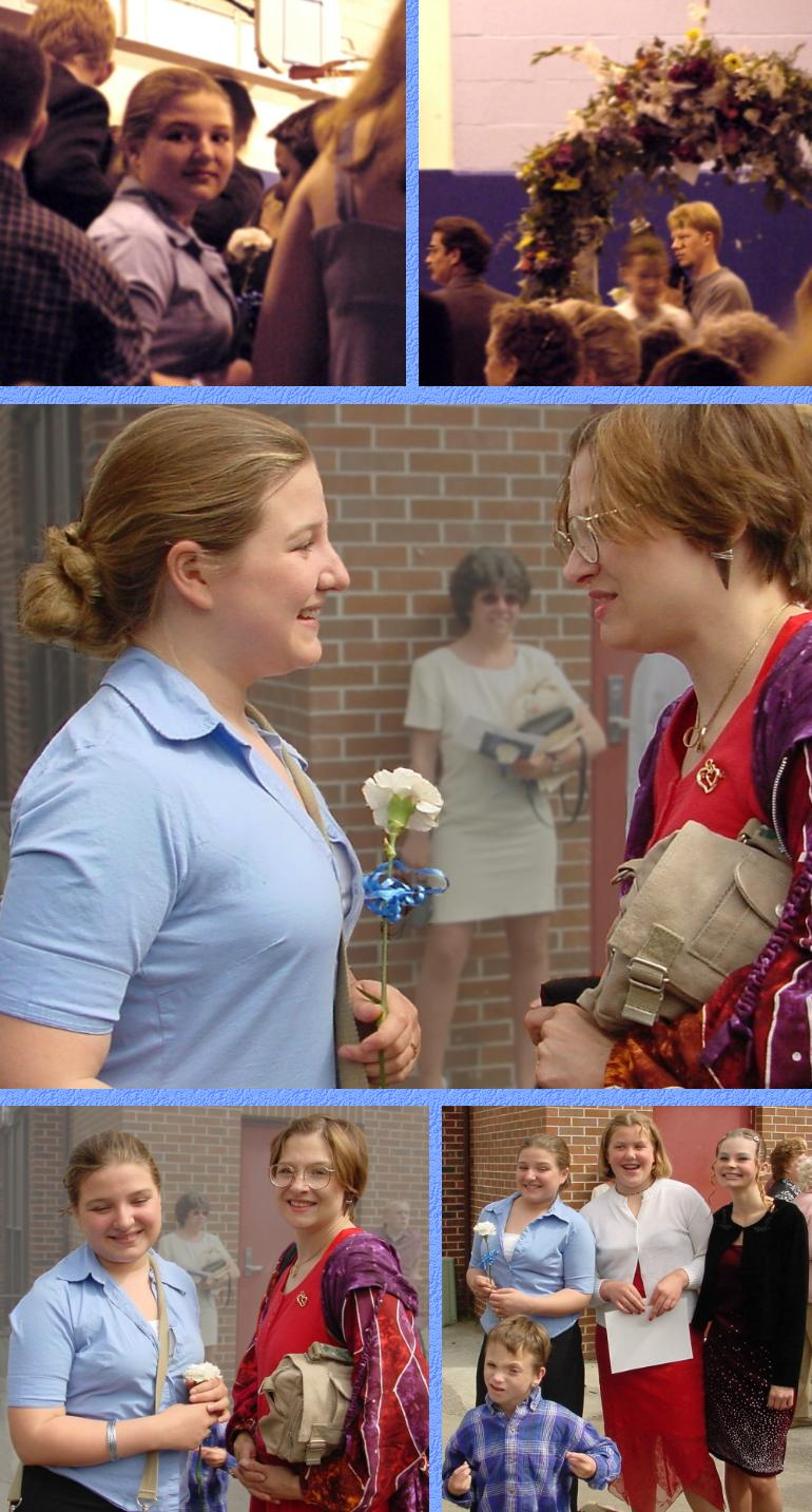Connie's 8th Grade Graduation - June 18, 2001