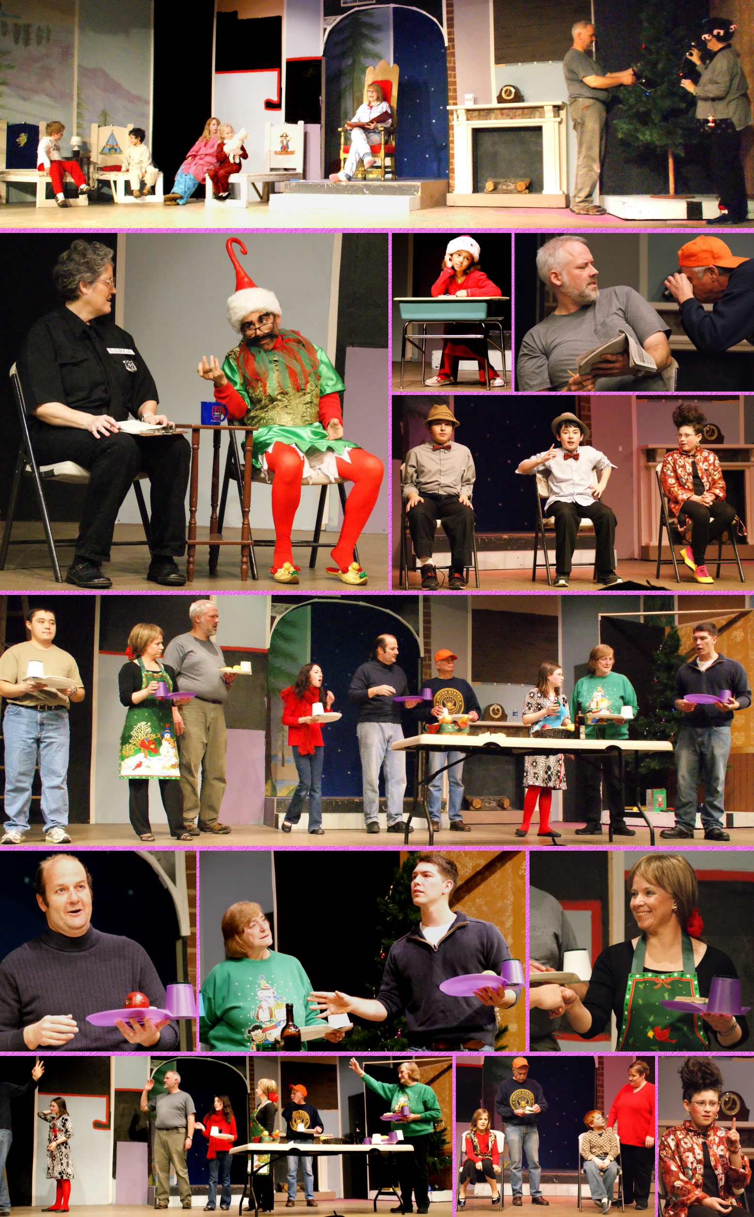 """Dear Santa"" Photos from Technical Rehearsal, Enlarged - 12/7/08"