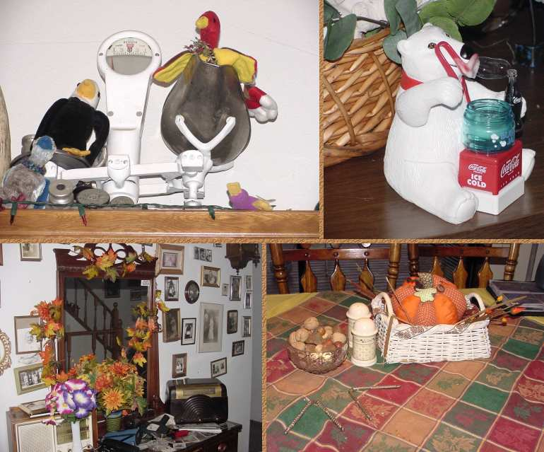 Thanksgiving Decorations - November 22, 2001