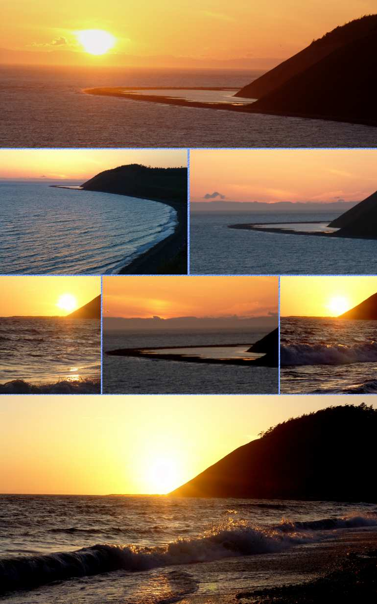 Ebey's Landing Sunset - 5/16/05