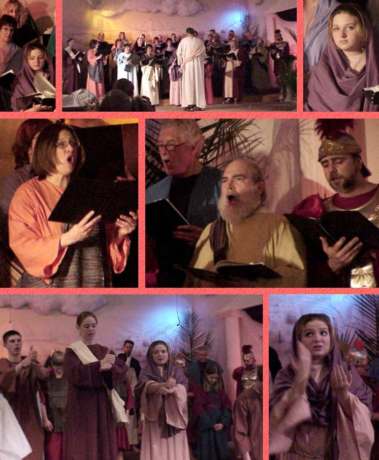 WEFC Easter Program - Adult Choir and Glad Tidings - 3/31/03