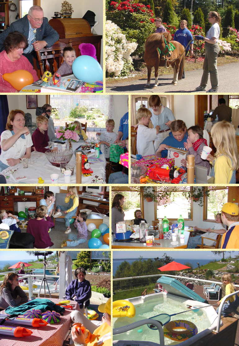 Gio's 9th Birthday Party Beginning - May 20, 2001