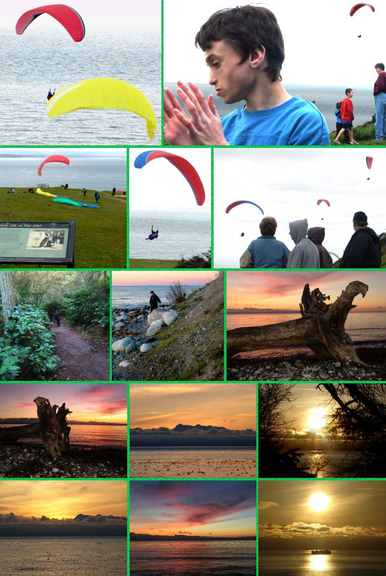 Gio's Hikes at Fort Ebey - 4/9/05 and 11/17/05