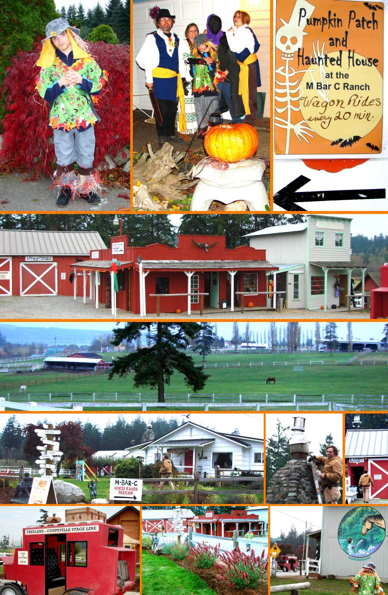 Gio's M-Bar-C Horse Ranch Halloween - October 31, 2007