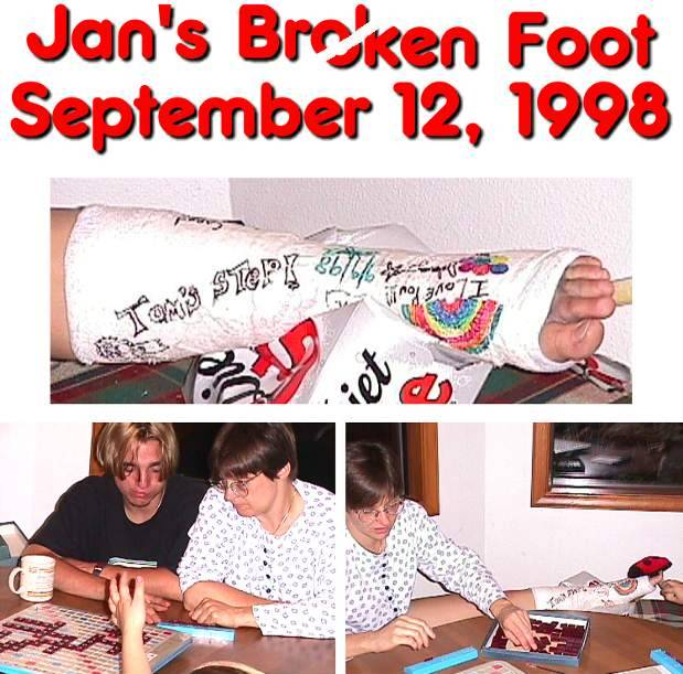 Jan's Broken Foot