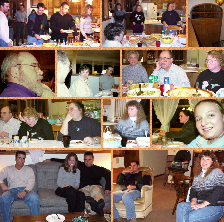Thanksgiving at Judy's - November 23, 2000