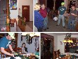 Link to Neighborhood ChristmasParty at our Home - 1999