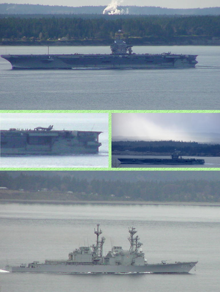 Navy Ships - 3/26/01 and 3/28/01