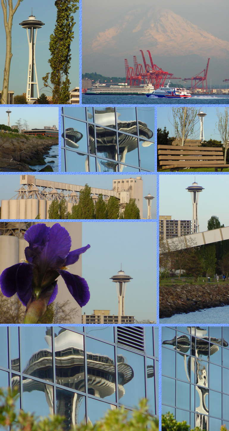 Space Needle Views (Top) - May 7, 2001