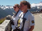 Link to Anita and Becky Near the Cascade Mountains
