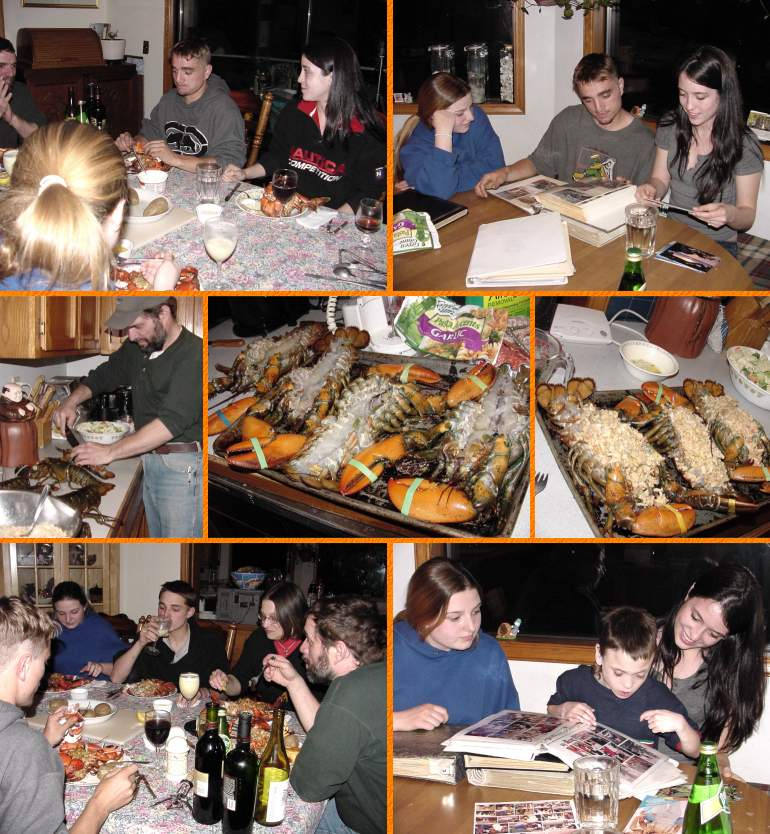 John's Lobster Feast, May 7, 2002
