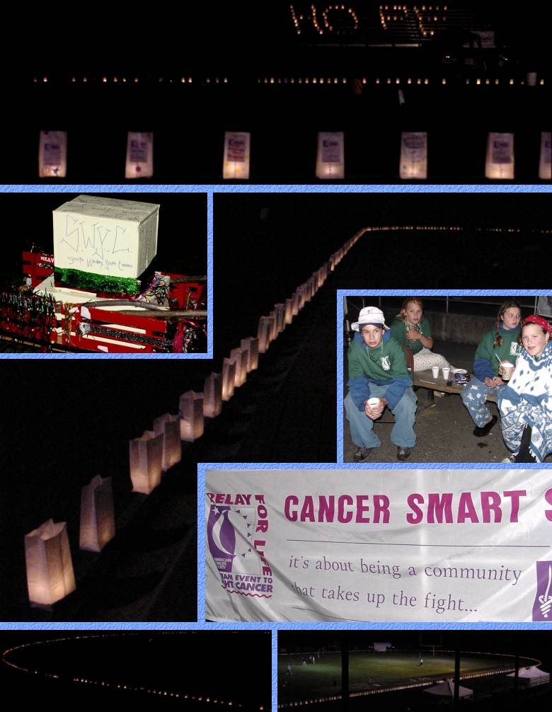 Relay For Life Luminaria - June 23, 2001