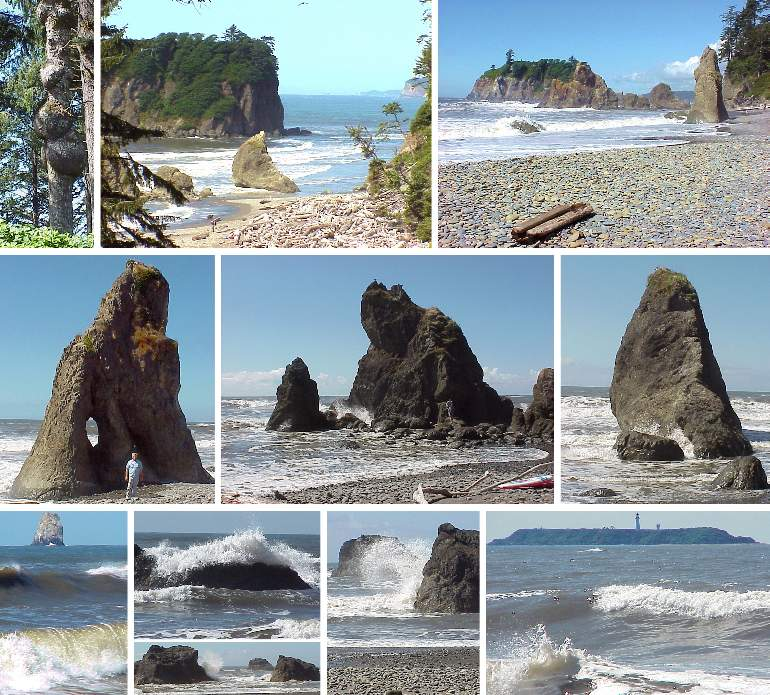 Ruby Beach of the Olympic National Park