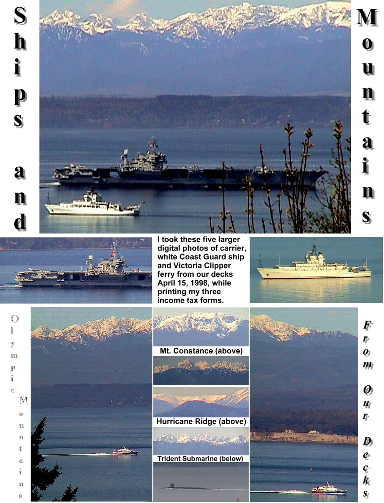 Ships and Mountains Collage