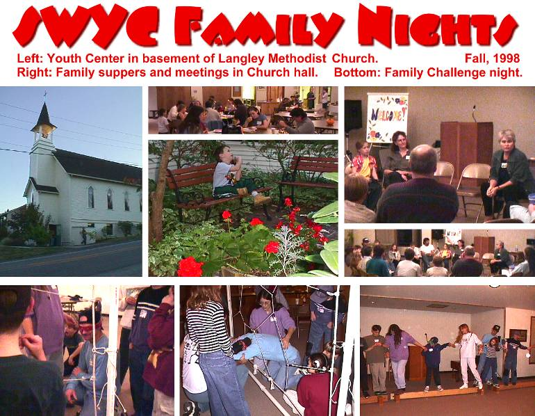 South Whidbey Youth Center Family Nights