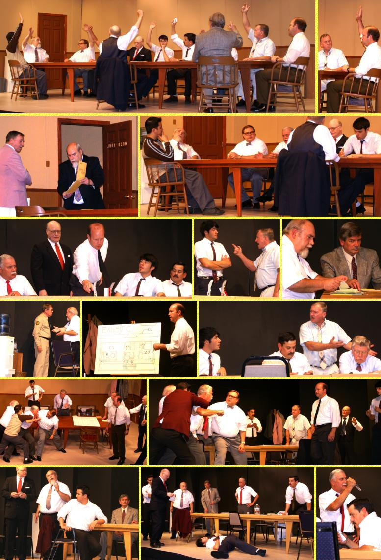 """Twelve Angry Men"" Rehearsal Photos