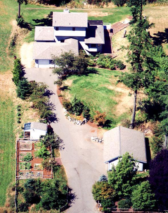 Air Photo of New House