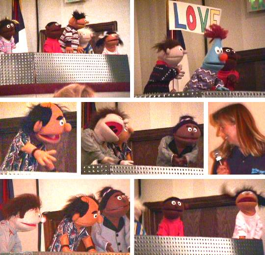 Evangelical Free Church Thanksgiving Puppets