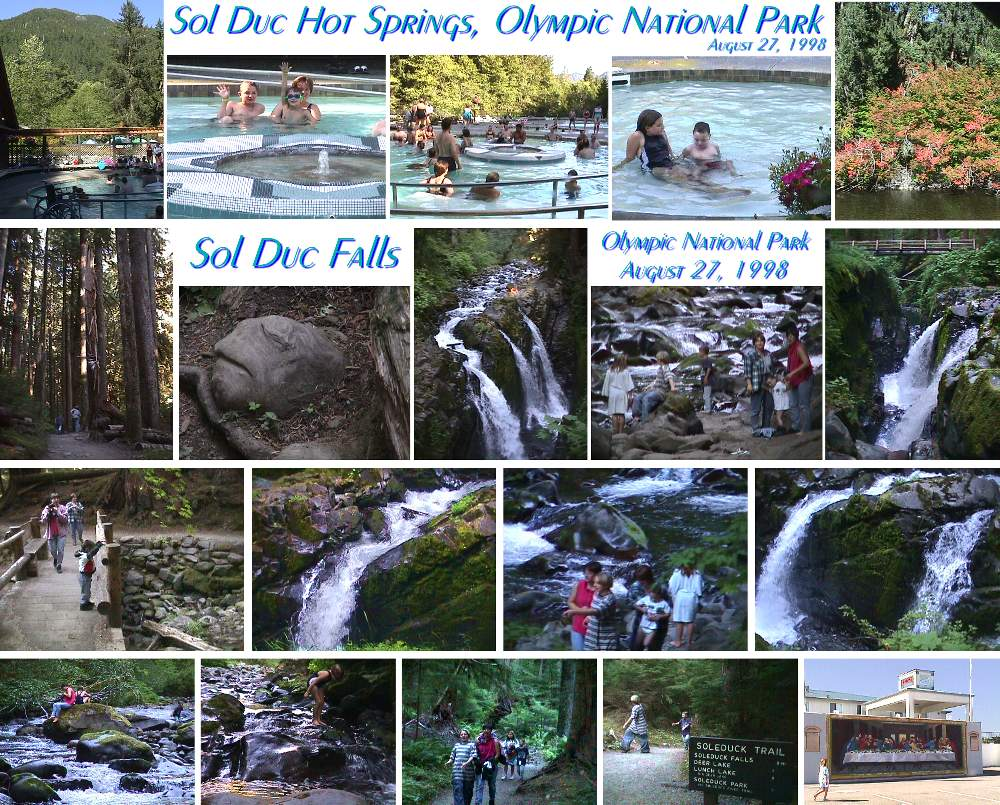 Sol Duc Falls and Hot Springs