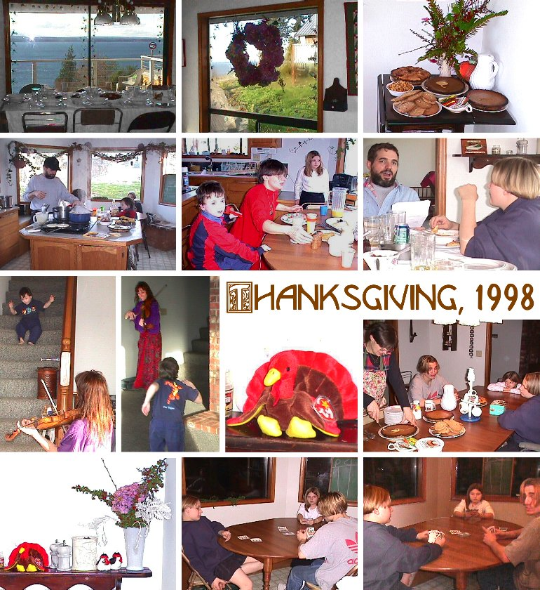 Thanksgiving Day, 1998